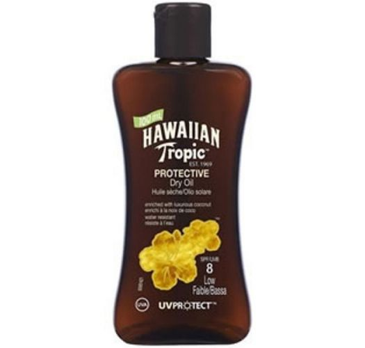 HAWAIIAN TROPIC óleo OIL - 100ml FPS 8